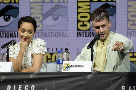 "Editorial image of 2018 Comic-Con - ""Preacher"" Panel, San Diego, USA - 20 Jul 2018"