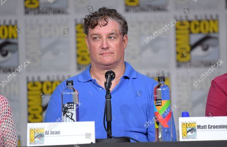 "Al Jean attends a panel for ""The Simpsons"" on day three of Comic-Con International, in San Diego"