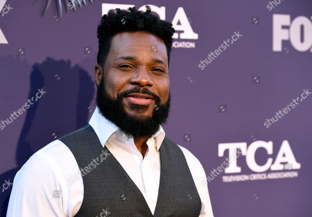 """Malcolm-Jamal Warner, a cast member in the television series """"The Resident,"""" poses at the FOX Summer TCA All-Star Party at Soho House West Hollywood, in West Hollywood, Calif"""