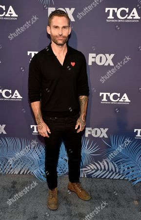 """Seann William Scott, a cast member in the television series """"Lethal Weapon,"""" poses at the FOX Summer TCA All-Star Party at Soho House West Hollywood, in West Hollywood, Calif"""