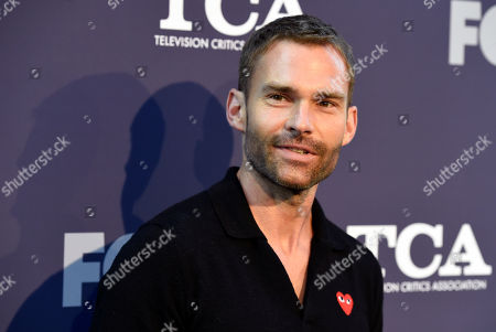 """Stock Photo of Seann William Scott, a cast member in the television series """"Lethal Weapon,"""" poses at the FOX Summer TCA All-Star Party at Soho House West Hollywood, in West Hollywood, Calif"""
