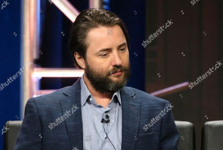 """Vincent Kartheiser participates in the """"Proven Innocent"""" panel during the Fox Television Critics Association Summer Press Tour at The Beverly Hilton hotel, in Beverly Hills, Calif"""