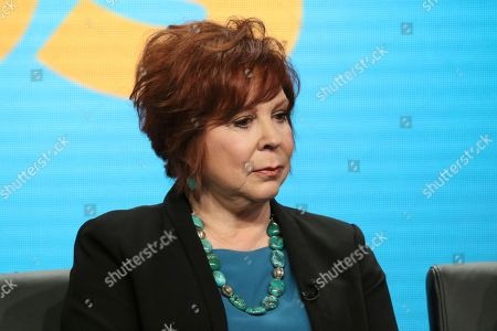 """Vicki Lawrence participates in """"The Cool Kids"""" panel during the Fox Television Critics Association Summer Press Tour at The Beverly Hilton hotel, in Beverly Hills, Calif"""