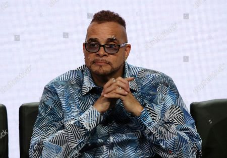 """Sinbad participates in the """"Rel"""" panel during the Fox Television Critics Association Summer Press Tour at The Beverly Hilton hotel, in Beverly Hills, Calif"""