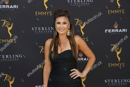 Naibe Reynoso arrives at the 70th Los Angeles Area Emmy Awards, at the Saban Media Center at Television Academy's North Hollywood, Calif. headquarters on