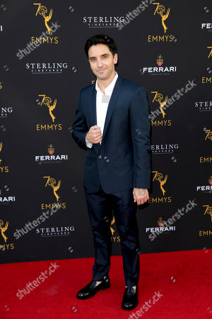 Paul W. Downs arrives at the 70th Los Angeles Area Emmy Awards, at the Saban Media Center at Television Academy's North Hollywood, Calif. headquarters on