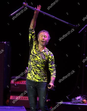 "Paul Rodgers, of the band Bad Company, performs solo in concert during the ""Stars Align Tour"" at the BB&T Pavilion, in Camden, N.J"