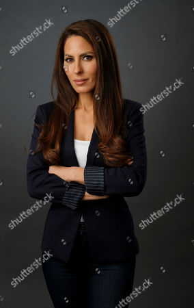 Kerri Kasem poses for a portrait, in Los Angeles. Kasem has become an advocate for the elderly and their adult children after waging a court fight in order to be able to see her father, disc jockey Casey Kasem, before his death in 2014. She said isolating an elderly person, as court documents allege has happened to Marvel Comics legend Stan Lee, is the leading red flag for elder abuse