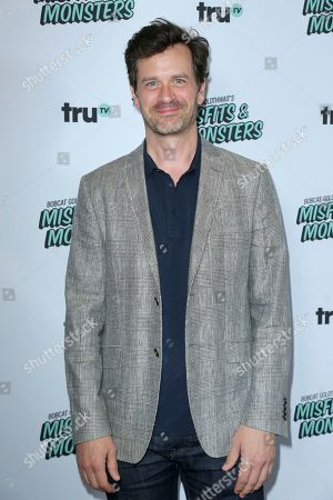 "Tom Everett Scott arrives at the LA Premiere of ""Bobcat Goldthwait's Misfits and Monsters"" at The Hollywood Roosevelt, in Los Angeles"