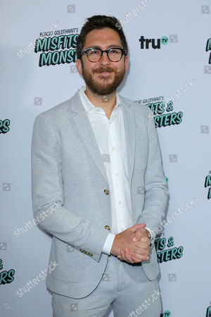"""Stock Photo of Amir Blumenfeld arrives at the LA Premiere of """"Bobcat Goldthwait's Misfits and Monsters"""" at The Hollywood Roosevelt, in Los Angeles"""