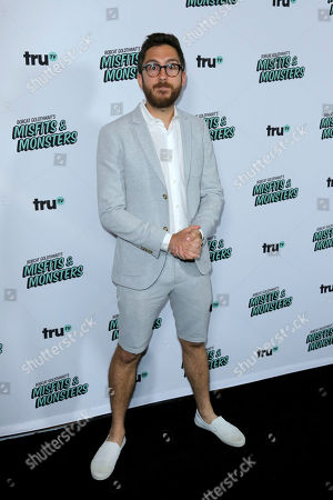 """Amir Blumenfeld arrives at the LA Premiere of """"Bobcat Goldthwait's Misfits and Monsters"""" at The Hollywood Roosevelt, in Los Angeles"""