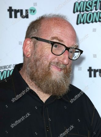 "Brian Posehn arrives at the LA Premiere of ""Bobcat Goldthwait's Misfits and Monsters"" at The Hollywood Roosevelt, in Los Angeles"