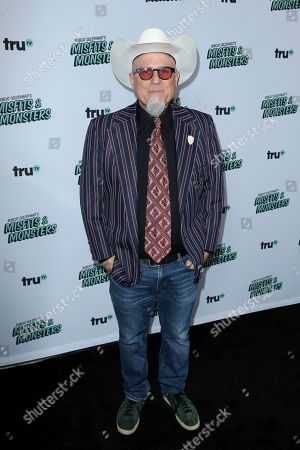 "Bobcat Goldthwait arrives at the LA Premiere of ""Bobcat Goldthwait's Misfits and Monsters"" at The Hollywood Roosevelt, in Los Angeles"