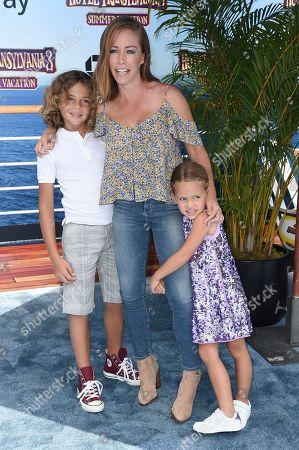 "Kendra Wilkinson attends the LA Premiere of ""Hotel Transylvania 3: Summer Vacation"" at the Regency Village Theatre, in Los Angeles"