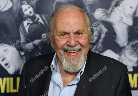 "George Schlatter arrives at the Los Angeles premiere of ""Robin Williams: Come Inside My Mind"" at the TCL Chinese Theatre on"