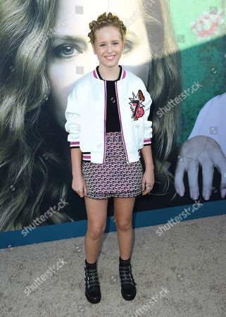 """Lulu Wilson arrives at the Los Angeles premiere of """"Sharp Objects"""" at the Cinerama Dome on"""