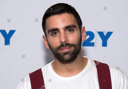 Phillip Picardi poses backstage at 92nd Street Y, in New York