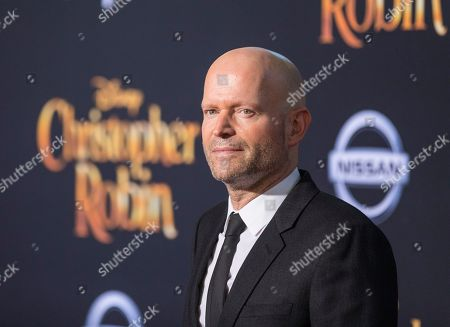 Marc Forster arrives at the Christopher Robin World Premiere at Walt Disney Studios on in Burbank, Calif. The stars were out in force as the all new Nissan Kicks also made its debut and Disney rededicated their theater to be named after the famed Sherman Brothers