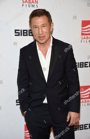 """Actor Pasha D. Lychnikoff attends the premiere of """"Siberia"""" at Metrograph, in New York"""