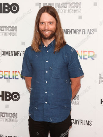 "Stock Photo of James Valentine attends the premiere of HBO Documentary Films' ""Believer"" at Metrograph, in New York"