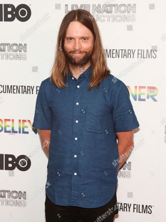 "Stock Image of James Valentine attends the premiere of HBO Documentary Films' ""Believer"" at Metrograph, in New York"