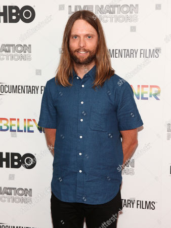 "James Valentine attends the premiere of HBO Documentary Films' ""Believer"" at Metrograph, in New York"