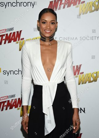 "Kara McCullough attends a special screening of ""Ant-Man and the Wasp"" at the Museum of Modern Art, in New York"
