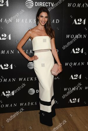 """Teresa Moore attends a special screening of """"Woman Walks Ahead"""" at The Whitby Hotel, in New York"""