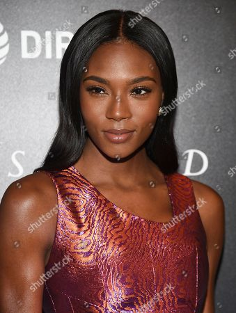 """Afiya Bennett attends a special screening of """"Woman Walks Ahead"""" at The Whitby Hotel, in New York"""