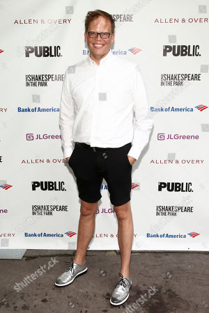 """Stock Image of Jeff Hiller attends the opening night of the Shakespeare in the Park production of Public Works' """"Twelfth Night"""" at the Delacorte Theater, in New York"""