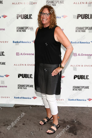 """Judy Gold attends the opening night of the Shakespeare in the Park production of Public Works' """"Twelfth Night"""" at the Delacorte Theater, in New York"""