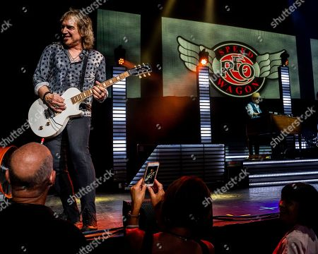 Editorial photo of REO Speedwagon in Concert - , Mass., Mansfield, USA - 5 Aug 2018