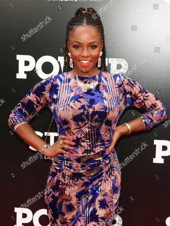 """Gia Peppers attends the Starz Original Series """"Power"""" Season 5 world premiere at Radio City Music Hall, in New York"""