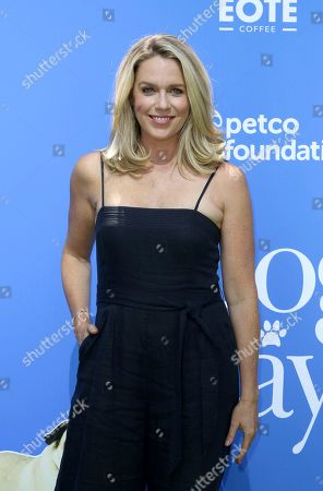 """Jessica St. Clair arrives at the World Premiere of """"Dog Days"""" at the Atrium at Westfield Century City, in Los Angeles"""