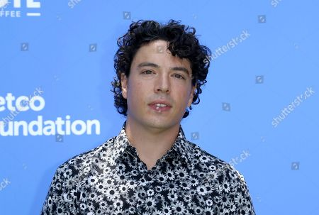 """Stock Picture of Jon Bass arrives at the World Premiere of """"Dog Days"""" at the Atrium at Westfield Century City, in Los Angeles"""