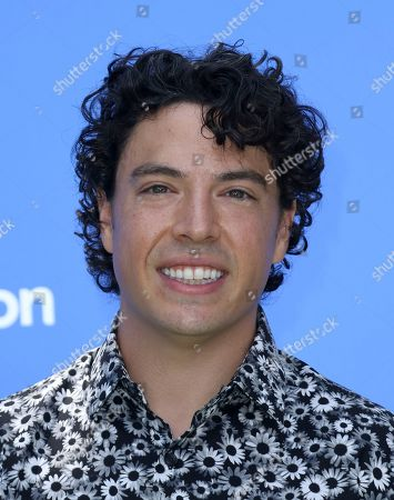 """Jon Bass arrives at the World Premiere of """"Dog Days"""" at the Atrium at Westfield Century City, in Los Angeles"""