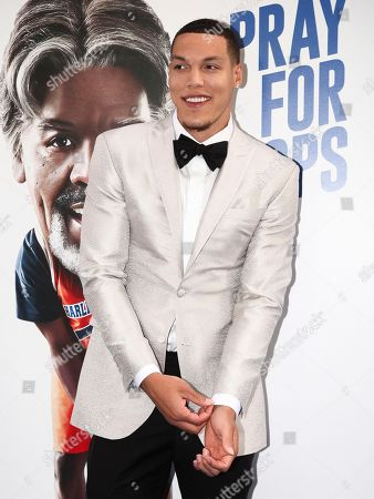 """Aaron Gordon attends the world premiere of """"Uncle Drew"""" at Alice Tully Hall, in New York"""