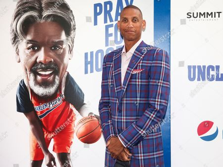 """Reggie Miller attends the world premiere of """"Uncle Drew"""" at Alice Tully Hall, in New York"""
