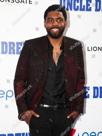 """Kyrie Irving attends the world premiere of """"Uncle Drew"""" at Alice Tully Hall, in New York"""