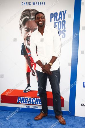 "Chris Webber attends the world premiere of ""Uncle Drew"" at Alice Tully Hall, in New York"