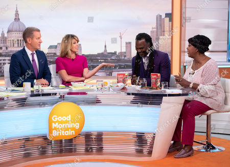 Jeremy Kyle and Kate Garraway, Levi Roots and Rustie Lee