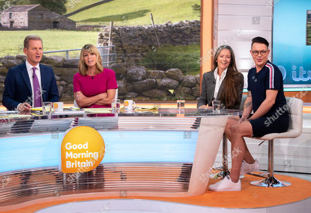 Jeremy Kyle, Kate Garraway, Bobby Cole Norris and Lorraine Chase