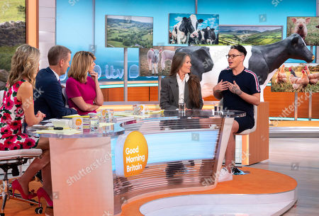 Charlotte Hawkins, Jeremy Kyle, Kate Garraway, Bobby Cole Norris and Lorraine Chase