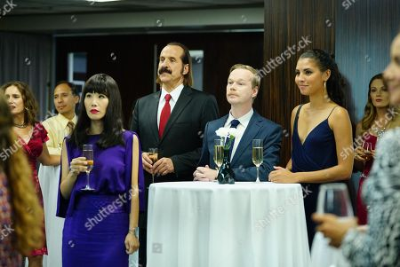 Vivian Bang as Sun, Peter Stormare as Ingmar, Johan Glans as Axel, Felisha Cooper as Sarah