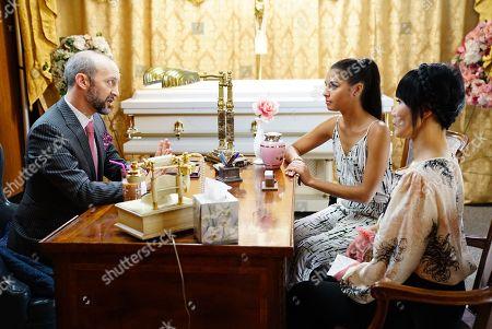 J.P. Manoux as Lou, Felisha Cooper as Sarah, Vivian Bang as Sun