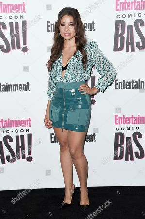 Jessica Parker Kennedy attends the Entertainment Weekly Comic-Con Celebration on day three of Comic-Con International, in San Diego