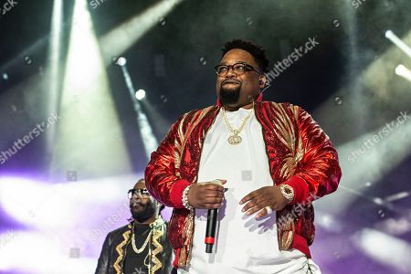 Stock Picture of Dave Hollister performs at the 2018 Essence Festival at the Mercedes-Benz Superdome, in New Orleans