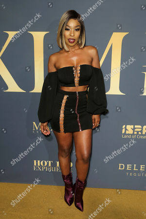 Porscha Coleman arrives at the 2018 Maxim Hot 100 Experience at the Hollywood Palladium, in Los Angeles