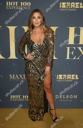 Ciara Price arrives at the 2018 Maxim Hot 100 Experience at the Hollywood Palladium, in Los Angeles