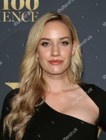 Paige Spiranac arrives at the 2018 Maxim Hot 100 Experience at the Hollywood Palladium, in Los Angeles